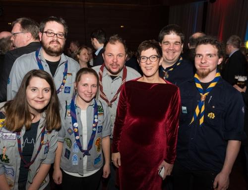 rsp Delegation beim Neujahrsempfang des Saarlandes 2018